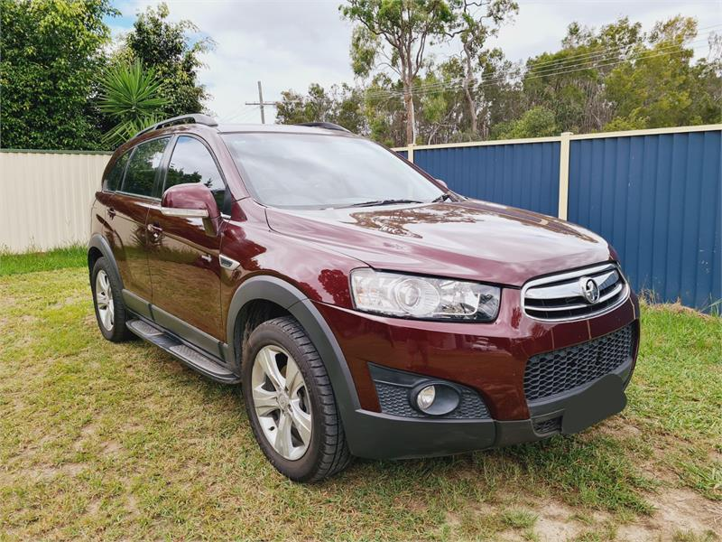 2012 HOLDEN CAPTIVA 7 CX (4×4) CG MY12